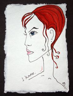 Items similar to I KNOW. Exclusive Aquarelle & Ink Drawing on High Quality Cotton Paper Size cm/ inches. on Etsy Beauty Art, Paper Size, I Know, Ink, Drawings, Creative, Handmade Gifts, Artist, Studio