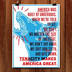 Tenacity Makes America Great by Danielle Deley - Creative Action Network