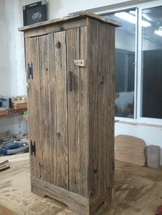 barnwood jelly cabinet by TreehouseWoodworks on Etsy