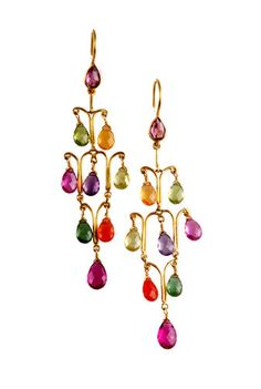 Earrings from the Munnu The Gem Palace collection.