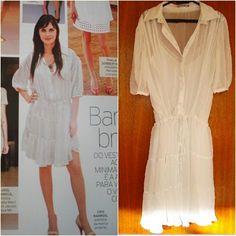 Levei um baita susto quando folheando a Elle, me deparei com uma reportagem sobre roupas brancas. E Cris Barros estava lá, linda e morena, usando um vestido que me tirou o sono durante um bom tempo. Seguinte, esse vestido é da coleção primavera verão de 2008 e eu fiquei LOUCA por ele. Tanto, que mandei …