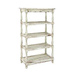 Found it at Joss & Main - Casey Bookcase Tall White Bookshelf, Wood And Metal Shelves, White Shelves, Metal Bookcase, Grey Wood, White Wood, Brown Wood, Distressed Wood, Glass Bookshelves