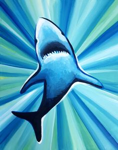 Paint Nite. Shark Club
