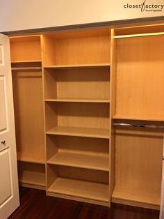 Reach In Closet, Closet Ideas, Closet Organization, Custom Closets,  Innovation Design, Organizers, Custom Cabinets, Planners, Organizing Tips