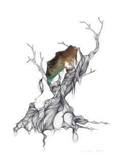 ORGÀNICA - Marina Guiu | illustration