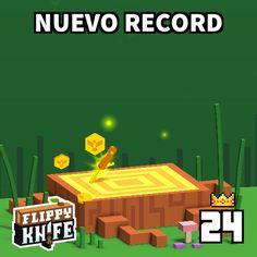 ¡Lo hice! Mi nuevo record es 24!