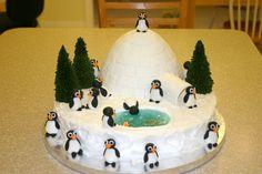 Penguin Cake.....cute!!!!