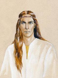 Young Mahtan by ~filat on deviantart    Nerdanel's father, a great smith
