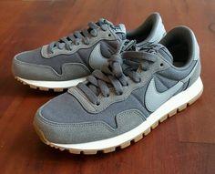 2af2c69922101 Nike Air Pegasus 83 Gray Stealth Black Women 6 5 Suede Running Shoes Medium