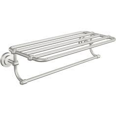 Moen DN0794BN Iso Brushed Nickel Towel Rack Shelf Bathroom Accessories  eFaucets.com