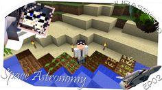 Minecraft Space Astronomy Ep02 - Lana E Letto Sabbia E Ghiaia Semi E Farm