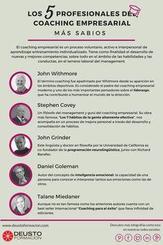 5 profesionales del coaching empresarial más sabios #infografia #infographic #education