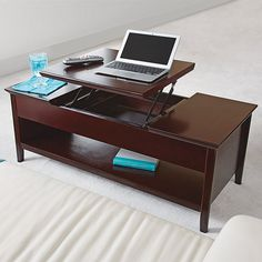 Lift-Top Extension Coffee Table