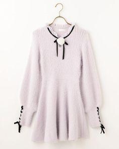 ファーポンポンワンピース|渋谷109で人気のガーリーファッション リズリサ公式通販