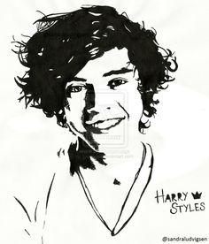Harry Styles One Direction by ludvigsen.deviantart.com on @deviantART