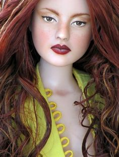 About Devon: OOAK Repaint and Partial Reroot by OSS #dollchat ^kv