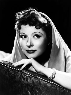 Greer Garson photographed by Clarence Sinclair Bull