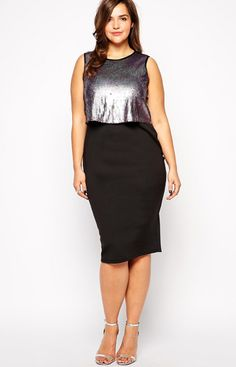 30 Best Plus Size New Year\'s Eve Party Dresses images | Plus size ...
