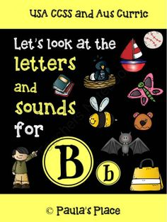 Phonics - Lets Look at Letters and Sounds for Tt from Paulas Place on TeachersNotebook.com -  (70 pages)  - Let�s Look at Letters and Sounds for �Bb�  There are lots of packs around for phonics, sounds and letters � so why this one? I have been teaching sounds/letters for almost 30 years and this is what works for me. This is the seventh in a series of packs to