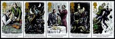 ~ Sir Arthur Conan Doyle - Sherlock Holmes ~ -- Enchanted Serenity of Period Films: Stamp Collection of Various Authors