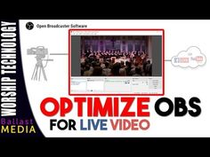 OBS Optimization - Best Settings for Live Video - YouTube Best Settings, Live For Yourself, Technology, Youtube, Tech, Tecnologia, Youtubers, Youtube Movies