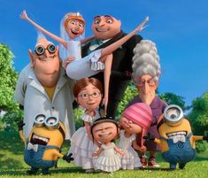 I loooooove them exept the minions! Agnes Despicable Me, Minions Despicable Me, My Minion, Minions 2014, Minion Banana, Pixar Movies, Movie Characters, Disney Movies, Disney Quiz