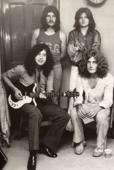 Led Zeppelin. Jimmy Page on a Danelectro guitar- I really loved them in '69-'70, during the infancy of zeppelin when it was 4 young lads playing awesome music