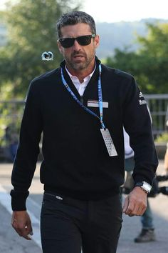 Patrick Dempsey Racing, Blue Eyed Men, Blue Eyes, Race Cars, Dads, Handsome, Actors, Style, Fashion