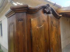 bécsi barokk bútor, antik szekrény