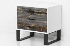 Cody Side Table in Recycled Grey Washed Wood