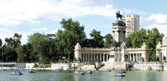 Sights In Madrid –Parque Del Buen Retiro. Hg2Madrid.com.