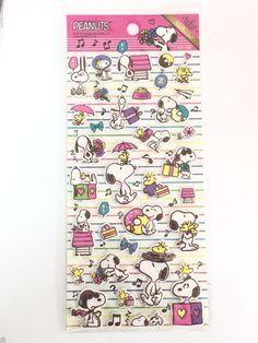 New Cute 3D Sticker Vintage SNOOPY Peanuts Woodstock Decoration Home Decor DIY