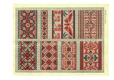 Gallery.ru / Фото #1 - Народные вышивки - livadika                                                         Pisanki inspiration