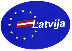 Latvija - Sticker