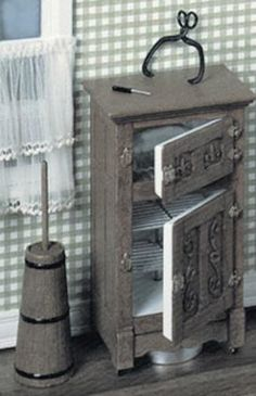 Chrysnbon Ice Box Kit | Mary's Dollhouse Miniatures