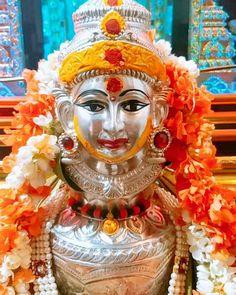 Goddess Bhuvaneshwari, Worship for Power, Strength, Wisdom and Wealth Indian Goddess, Durga Goddess, Hanuman Pics, Silver Pooja Items, Hindu Deities, Hinduism, Pooja Mandir, Ganapati Decoration, Pooja Room Door Design