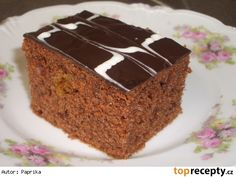 Snack Recipes, Cooking Recipes, Snacks, Czech Recipes, Ethnic Recipes, Sweets Cake, Culinary Arts, Pound Cake, Nutella