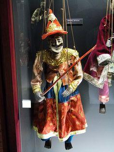 Marionetas do Myanmar