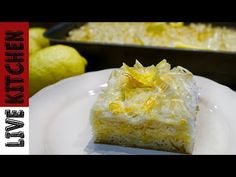 YouTube Greek Desserts, Greek Recipes, Greece Food, Bread Machine Recipes, Happy Foods, Kitchen Living, The Best, Food And Drink, Pudding