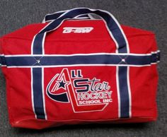Custom coaches bag for All Star Hockey by GSW Hockey Bags, Stars Hockey, Coaches, All Star, Coach Bags, Lunch Box, Trainers, Workout Trainer, Star