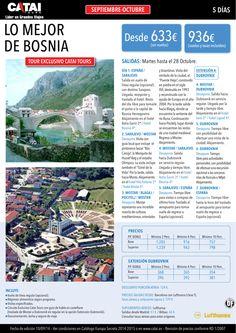 Sept-oct: Lo Mejor de BOSNIA, tour exclusivo Catai, 5d desde 633 sin vuelos o 936€ con vuelos ultimo minuto - http://zocotours.com/sept-oct-lo-mejor-de-bosnia-tour-exclusivo-catai-5d-desde-633-sin-vuelos-o-936e-con-vuelos-ultimo-minuto/