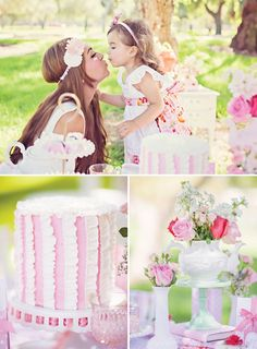 Oh My Gosh, tea party birthday party! Love the interwoven of the classic Strawberry shortcake. Girls Tea Party, Princess Tea Party, Tea Party Birthday, First Birthday Parties, First Birthdays, Birthday Ideas, Tea Parties, 2nd Birthday, Little Girl Birthday