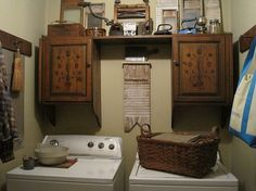 I want my laundry room to look like this