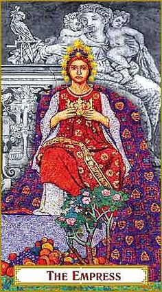 Baba Studio Design - 'The Empress' card from The Tarot of Prague