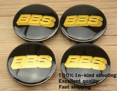 Find More Emblems Information about Good quality 4pcs/lot 65mm BBS Black/Golden emblem VW Wheel Center caps hub cover car Badges Emblem 3B7 601 171,High Quality Emblems from car emblem wheel hub cap on Aliexpress.com