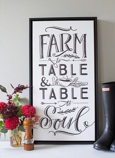 Farm to table                                                                                                                                                                                 More