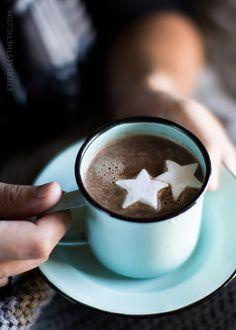 Nutella Hot Chocolate with Hazelnut Schnapps