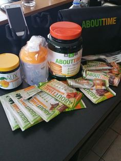 YUMMMMMYYY. New goodness from About Time Nutrition-- click on the picture to head to their store, use code FITFLUENTIAL for 25% OFF!!! PROTEIN PANCAKES OFF THE HOOK. #fitfluential #client