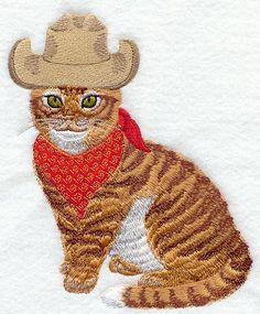 Kitty in Cowboy Hat