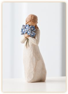 """Forget Me Not""  Holding thoughts of you closely."